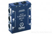Palmer PMB-L: Merge box, 4x XLR F in -> 2x XLR M out