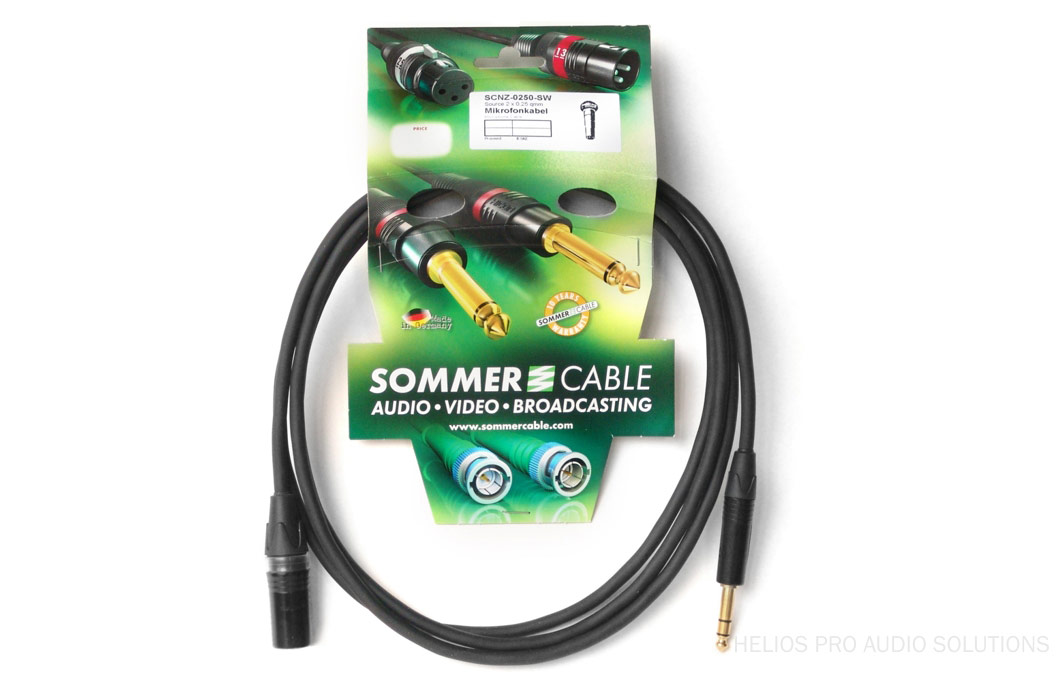 Sommer Cable Scnq 1000 Sw Prefab Analog Cables Helios