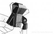 Beyer Dynamic MKV 6: Microphone clamp (19-32mm)