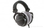 Beyer Dynamic DT 770 PRO, 250 ohms: Closed Headphone, coiled cable