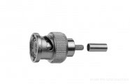 BNC J01002A0018: BNC Male krimpconnector SDI/HD