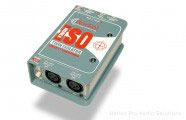 Radial Twin Iso: 2-ch line-level isolator w/Jensen transf
