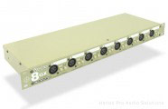 Radial 8 OX-RACK-Jensen: 8 channel 19'' rack mount splitter