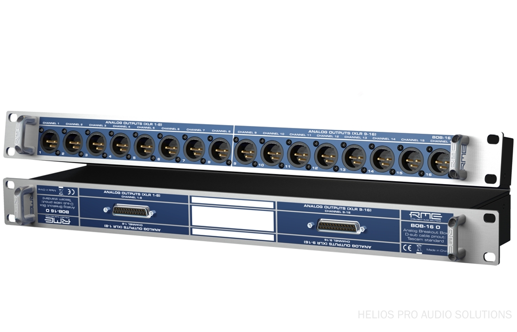 RME BOB-16 O - Breakout boxes - Helios Online