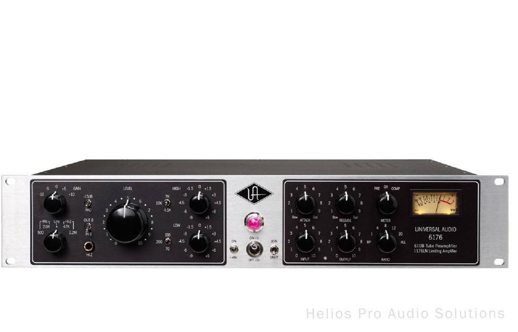 Universal Audio 6176: Mic/Instr Pre-EQ + Limiting Amplifier