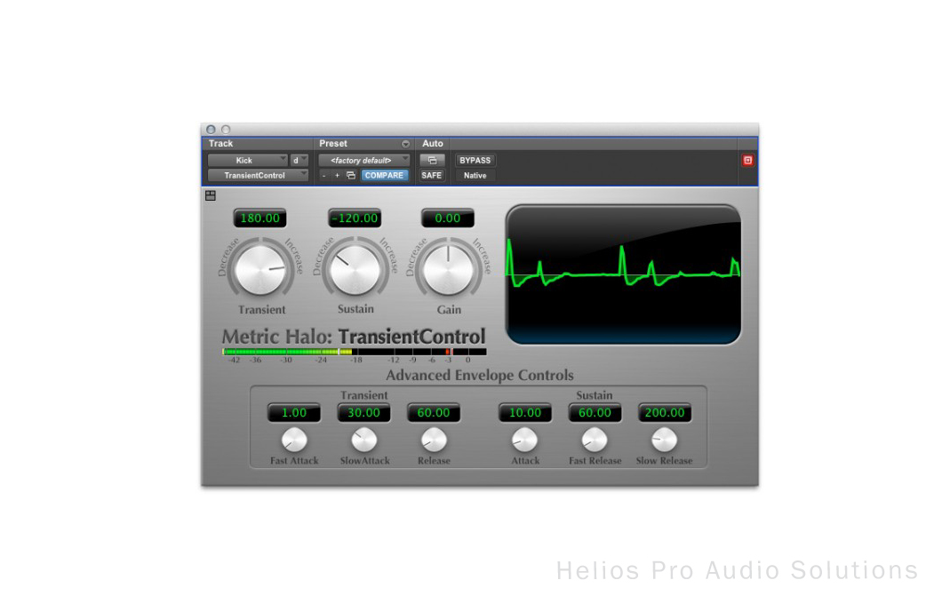 metric halo vst