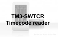 RTW TM3-SWTCR: TM3 timecode reader option