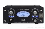 Avalon Design V5 Black: Class-A, Instr. DI-Re-Mic Preampl EQ