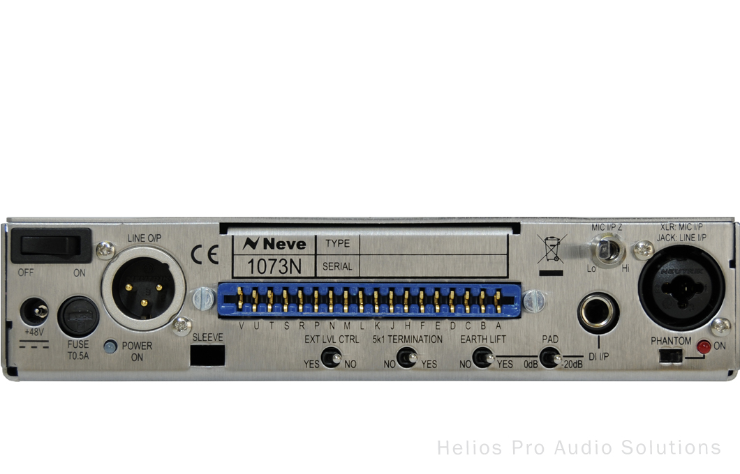 AMS Neve 1073N - Channel Strips - Helios Online