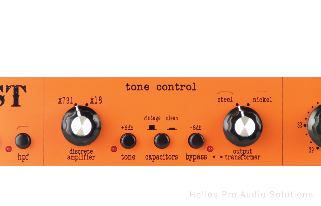 Warm Audio TB12 Tone Beast - Outboard - Pre-amps - Helios Online