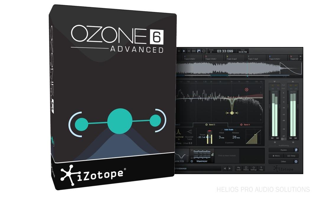 Izotope Ozone 7 AD - Software / Plug-ins - Plug-ins Native - Helios