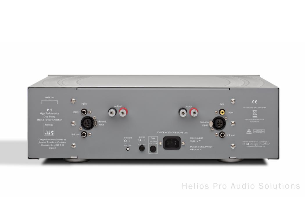 Atc Consumer Hifi P1 Power Amplifiers Hifi Helios Online