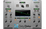 Metric Halo Dirty Delay: Software Plug-in for AAX (DSP) and VST