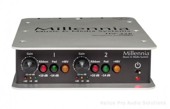 millennia media hv 32p pre amps helios online. Black Bedroom Furniture Sets. Home Design Ideas