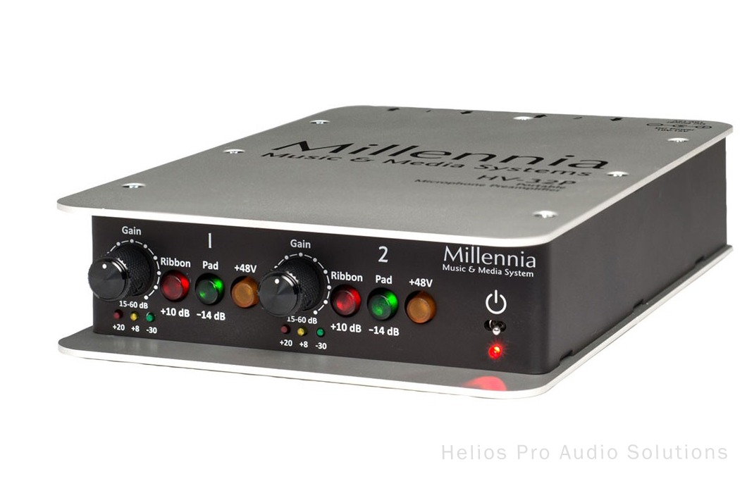 millennia media hv 32p outboard pre amps helios online. Black Bedroom Furniture Sets. Home Design Ideas