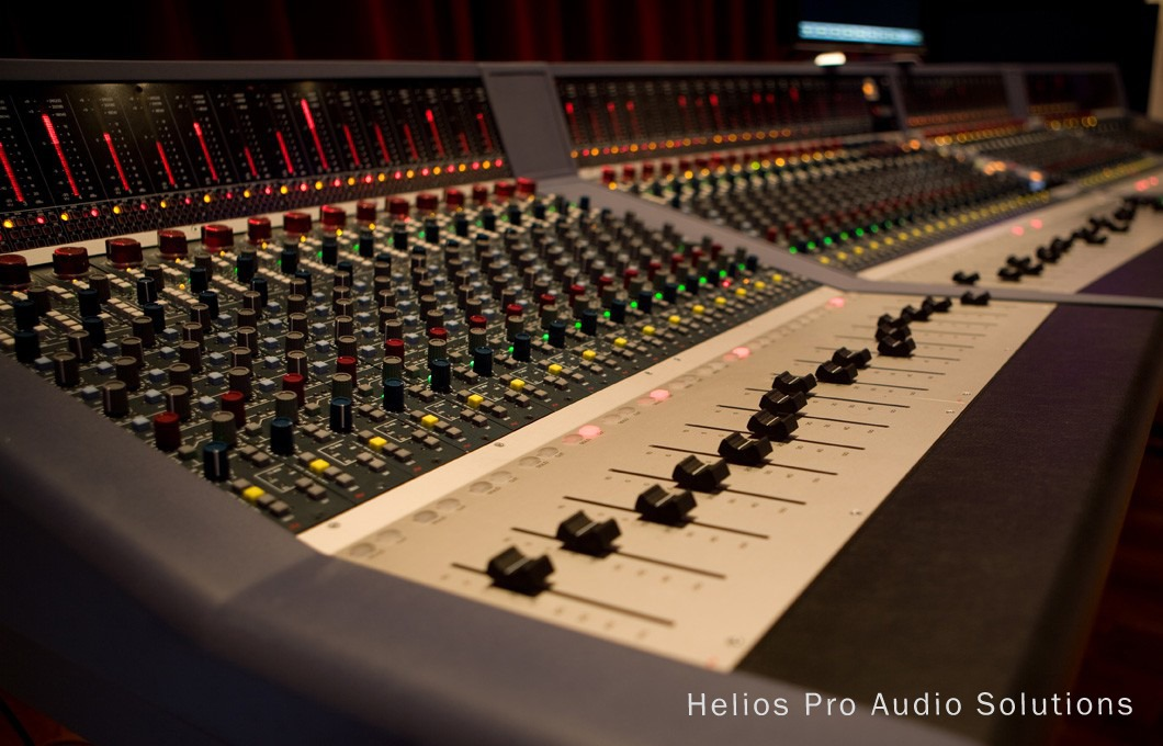 Ams Neve Genesys Recording Consoles Analog Helios Online