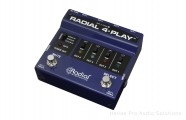 Radial 4-Play DI: 4-Way Instrument Switching DI Box