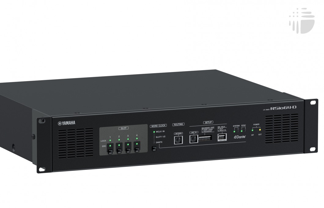 Yamaha rsio64 d network interfaces helios online for Yamaha dante card