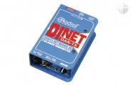 Radial DiNET DAN-TX: 2-Channel Dante Audio Transmitter