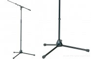 K&M 210/9: Microphone stand - black