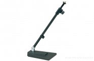 K&M 234: Table- /Floor microphone stand - black
