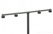 K&M 236: Microphone bar - black