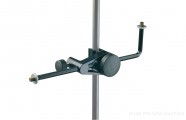 K&M 240/5: Microphone holder - black